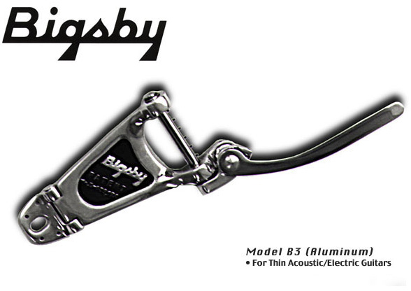 Bigsby Vibrato Tailpiece B3 Polished Aluminum ビグスビー ビブラート・テイルピース アーム【ご予約受付中】【送料無料】【smtb-u】【ONLINE STORE】