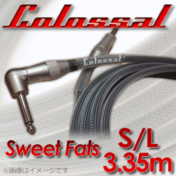 Colossal Cable 11ft(3.35m)SweetFats S/L 《ギター/ベース用シールド》【送料無料】【smtb-u】【ONLINE STORE】