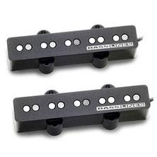 Seymour Duncan 5-string Passive Single Coil SJ5s-67/70 Set(SJ5n-67/70+SJ5b-67/70) (受注生産品) (5弦ベース用ピックアップ)(送料無料)(お取り寄せ)【ONLINE STORE】