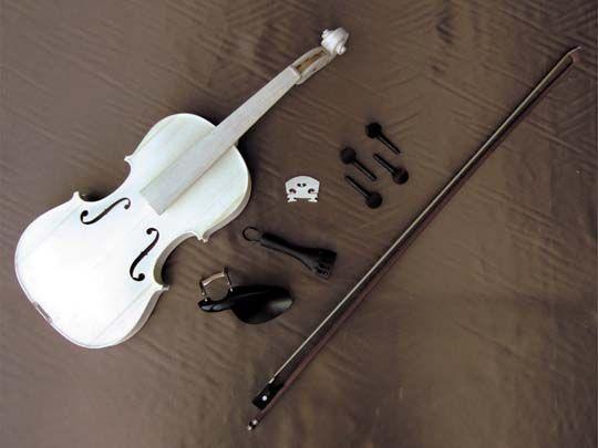 HOSCO V-KIT-0 バイオリンキット 半完成品 《バイオリン組み立てキット》【送料無料】【ONLINE STORE】
