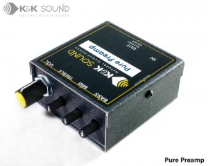 K&K Sound Pure Preamp 《プリアンプ》【送料無料】【ONLINE STORE】