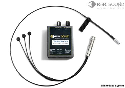 K&K Sound Trinity MINI System《アコースティックギター用ピックアップシステム》【送料無料】(ご予約受付中)【ONLINE STORE】