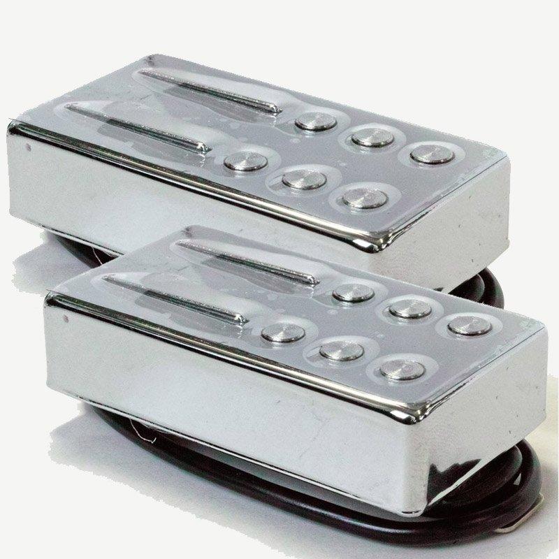 Railhammer Pickups Hyper Vintage Set Chrome 〔HVI-B-C/HVI-N-C〕《ギター用ピックアップ/ハムバッカー》【ブリッジ用+ネック用セット】【送料無料】【ONLINE STORE】