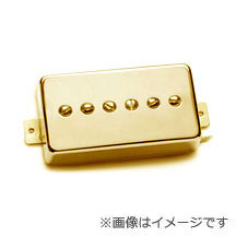 Seymour Duncan Phat Cat SPH90-1b Gold Cover (ブリッジ用)(送料無料)(P90タイプピックアップ)(お取り寄せ)【ONLINE STORE】