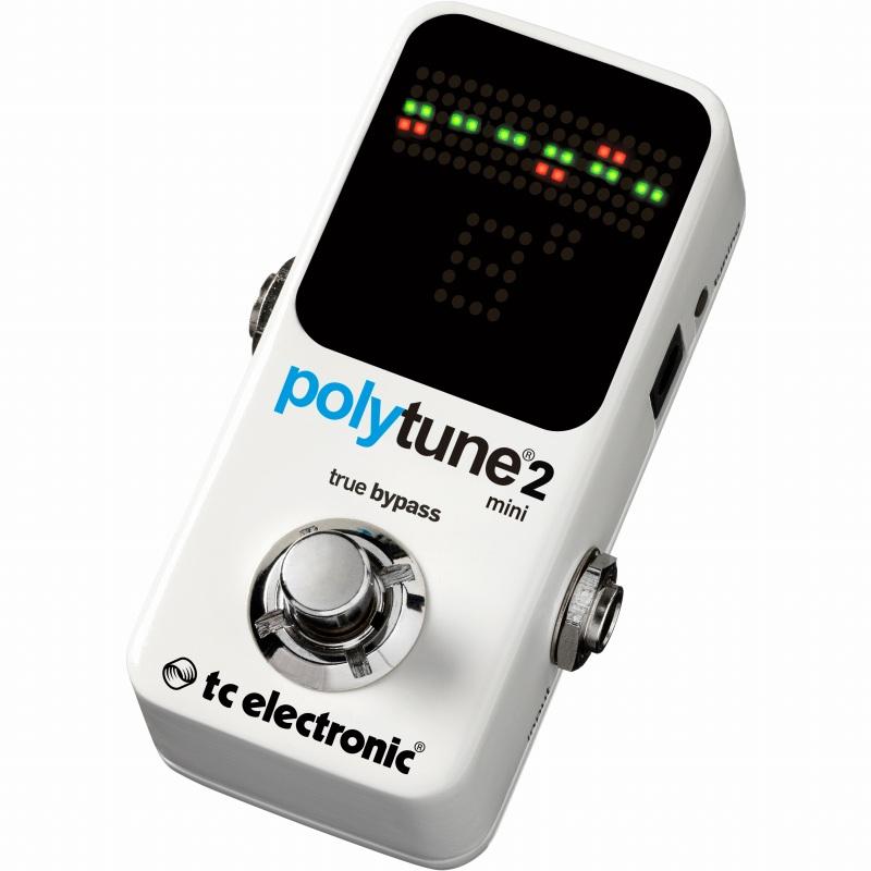 TC ELECTRONIC PolyTune 2 Mini (チューナー)(送料無料)【ONLINE STORE】