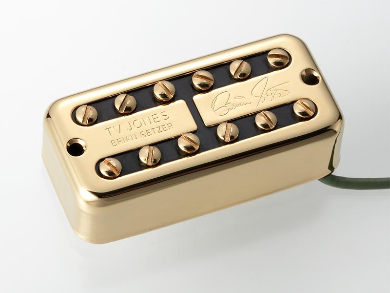 TV Jones Brian Setzer Signature Bridge / Gold 《ギター用ピックアップ/ハムバッカー》【ブリッジ用】【NE Filter'Tron Mount】【送料無料】【ONLINE STORE】