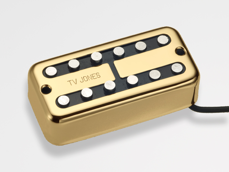 TV Jones Magna'Tron Bridge Gold 《ギター用ピックアップ/ハムバッカー》【ブリッジ用】【NE Filter'Tron Mount】【送料無料】【次回入荷分ご予約受付中】【ONLINE STORE】