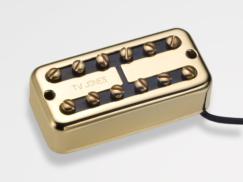 TV Jones Power'Tron Bridge Gold 《ギター用ピックアップ/ハムバッカー》【ブリッジ用】【NE Filter'Tron Mount】【送料無料】【ONLINE STORE】