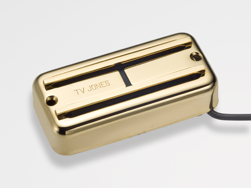 TV Jones Super'Tron Bridge Gold 《ギター用ピックアップ/ハムバッカー》【ブリッジ用】【NE Filter'Tron Mount】【送料無料】【ONLINE STORE】