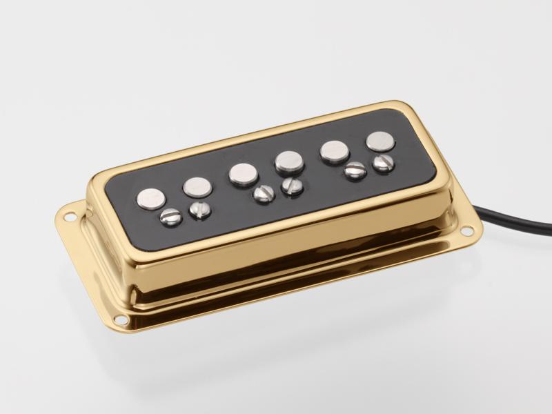 TV Jones T-Armond Bridge Gold 《ギター用ピックアップ/シングルコイル》【ブリッジ用】【DeArmond Mount】【送料無料】【ONLINE STORE】