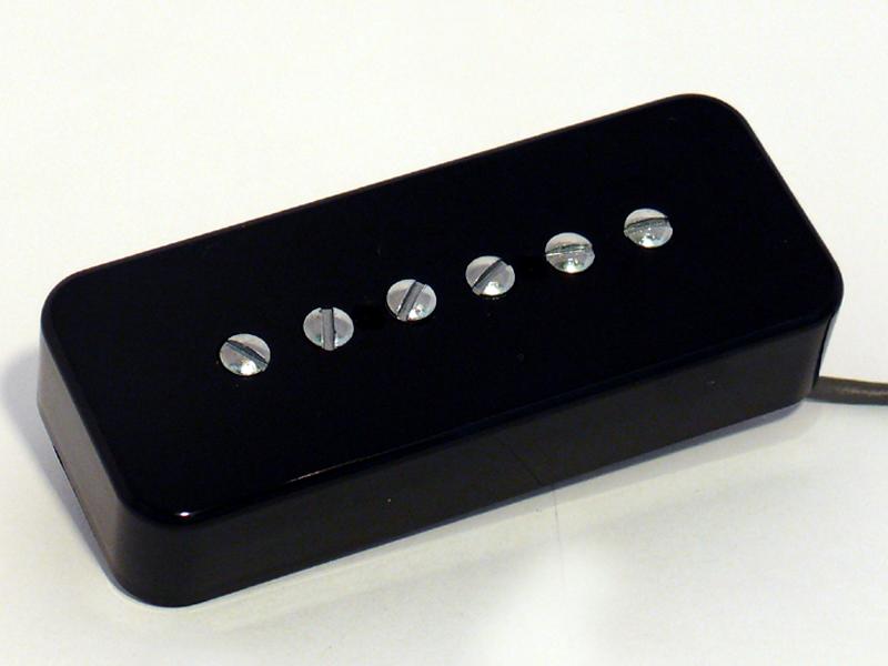 TV Jones T-90 Bridge Black (ギター用ピックアップ/P-90タイプ)(ブリッジ用)(Soapbar Mount)(送料無料)(ご予約受付中)【ONLINE STORE】