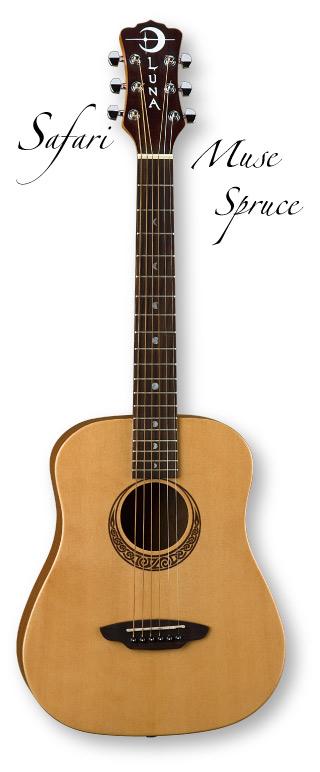 Luna Guitars Safari Muse Spruce【ご予約受付中】【ONLINE STORE】