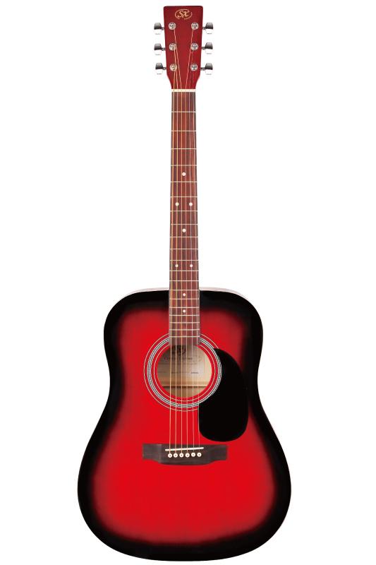 SX SD1-RDS 《アコースティックギター》【お求めやすい初心者アコギ】【送料無料】【ONLINE STORE】