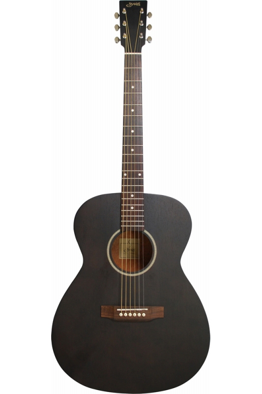 S.Yairi YF-04/BLK (Black)《ミディアムスケール・アコースティックギター》【送料無料】【ONLINE STORE】