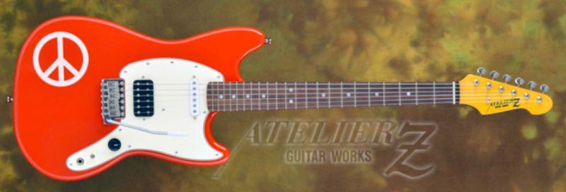 ATELIER Z Stardust Revue KANAME NEMOTO Signature Model TYPE2 -Fiesta red- 【NEW】※9月入荷予定ご予約用ページ 【新品】 【日本総本店エレキギターフロア在庫品】