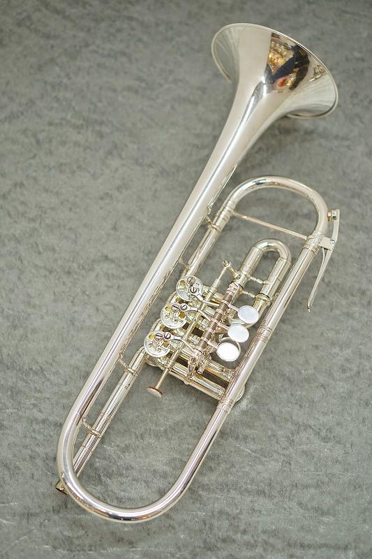 MONKE Rotary Trumpet【中古】【ロータリートランペット】【モンケ】【B♭管】【お茶の水中古管楽器センター在庫品】