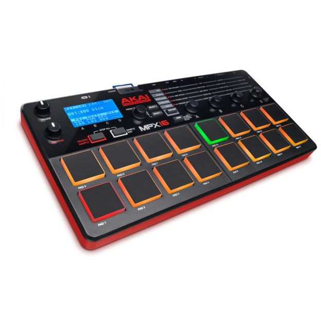 AKAI MPX16 【SD Sample Recorder and Player 】 【送料無料】(ご予約受付中)