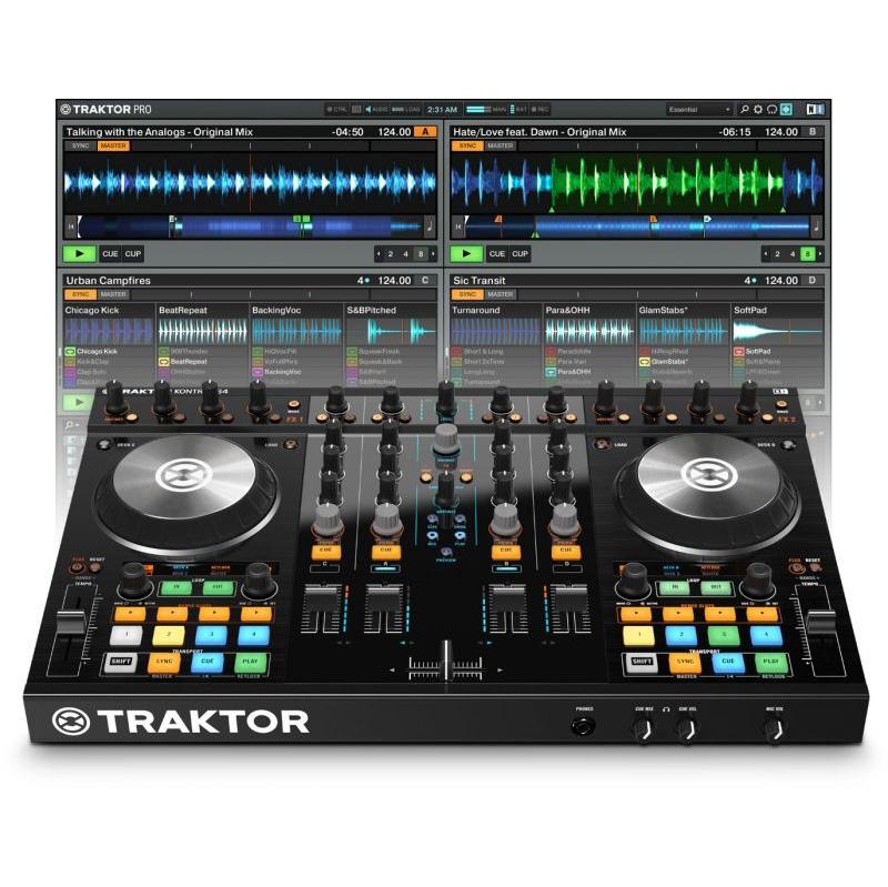 Native Instruments Native Instruments TRAKTOR KONTROL S4【送料無料】【ONLINE STORE】