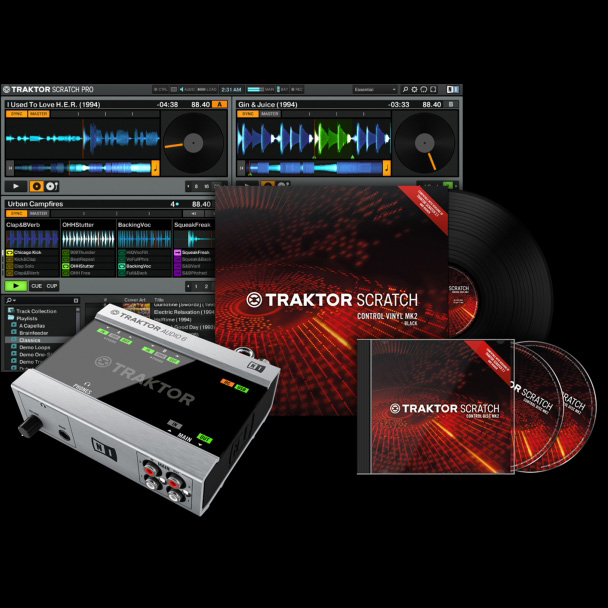 Native Instruments Native Instruments TRAKTOR SCRATCH A6【送料無料】【ONLINE STORE】