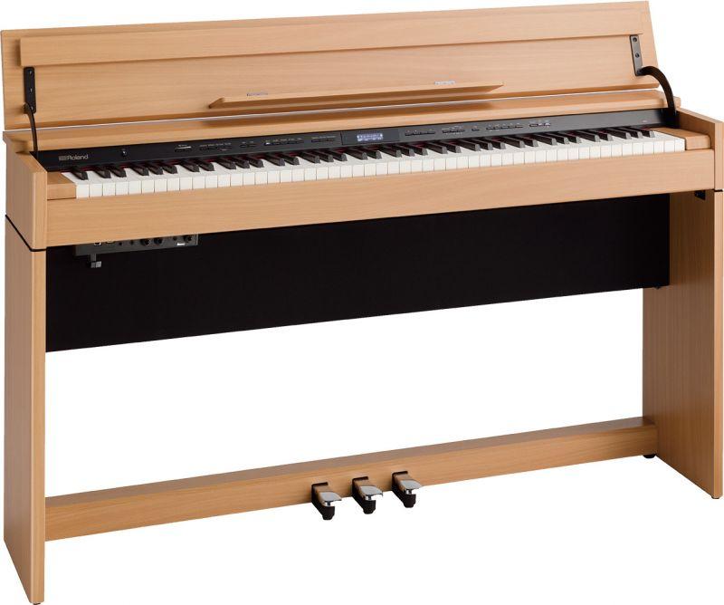 Roland ローランド DP603-NBS【ナチュラルビーチ調仕上げ】【高低自在椅子&ヘッドフォン付属】【電子ピアノ・デジタルピアノ】【送料無料】【ONLINE STORE】