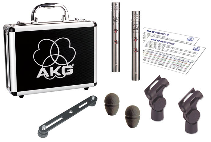 AKG C 451 B/ST 《コンデンサーマイク/ステレオペアセット》【送料無料】【ONLINE STORE】