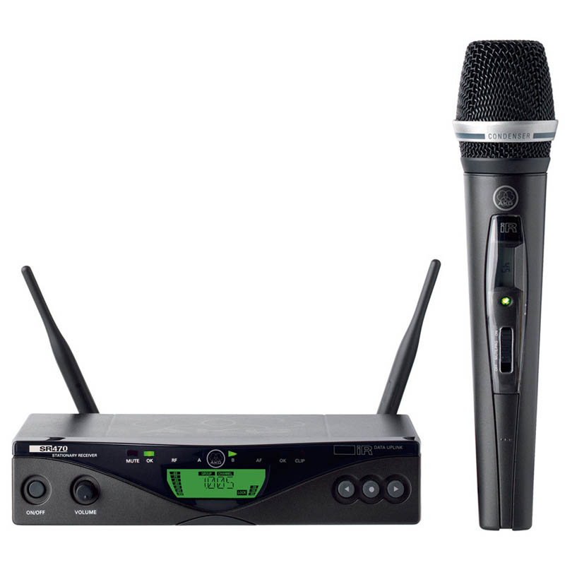 AKG WMS 470 Vocal Set C5 《コンデンサーマイク&ワイヤレスセット》【送料無料】【ONLINE STORE】