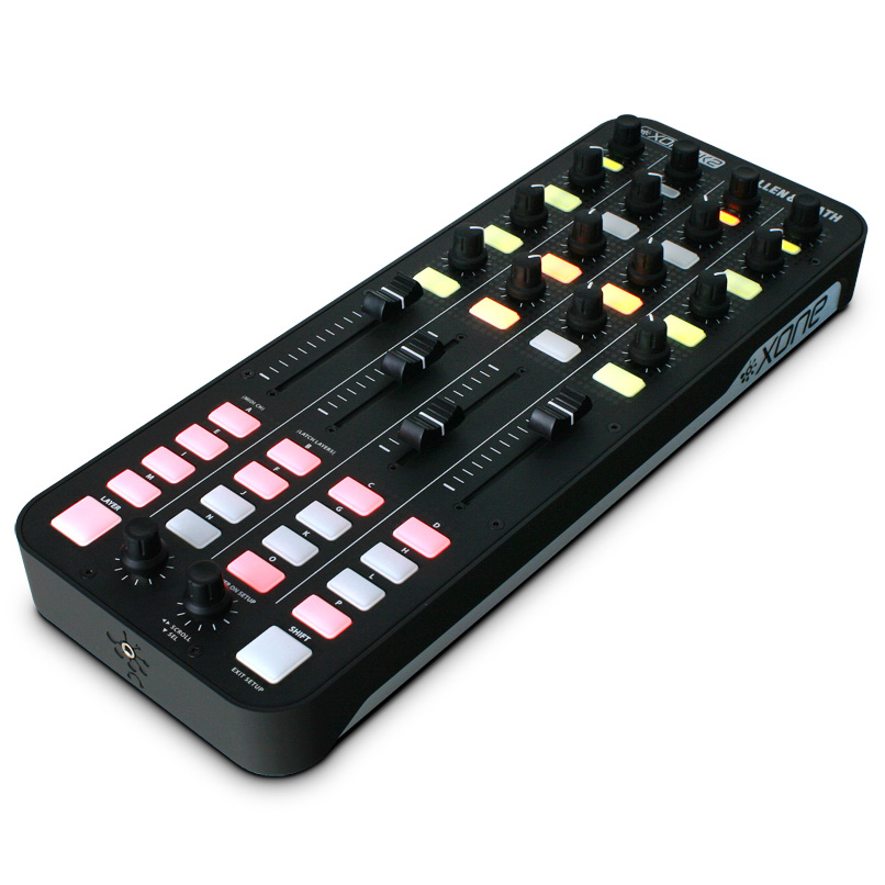 Allen & Heath XONE:K2《オーディオインターフェイス機能搭載・プロフェッショナル DJ MIDI コントローラー》アレン&ヒース ゾーン【送料無料】【smtb-u】【ONLINE STORE】