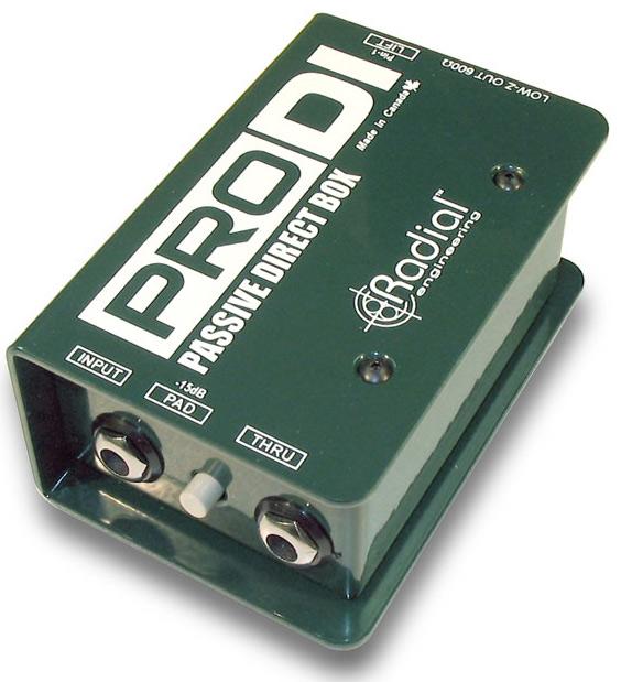 Radial Pro DI RD1100《パッシブ・ダイレクトボックス/DIボックス》【送料無料】【smtb-u】【ONLINE STORE】