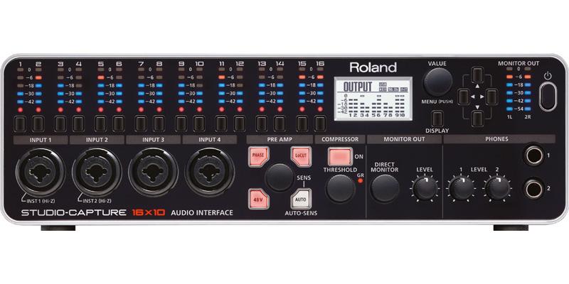 Roland STUDIO-CAPTURE USB 2.0 Audio Interface [UA-1610] 《USBオーディオインターフェイス》【送料無料】【smtb-u】【G-CLUB渋谷】