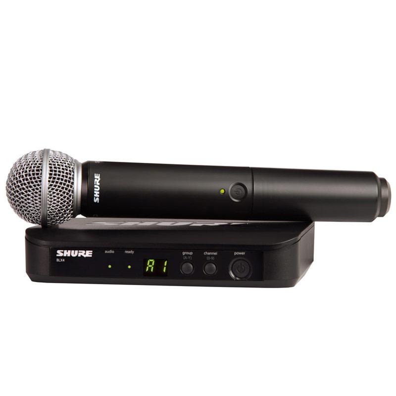 SHURE BLX Premium Wireless BLX24/SM58 《BLX ハンドヘルドシステム with SM58 Mic Head /ワイヤレスシステム》【送料無料】【ONLINE STORE】