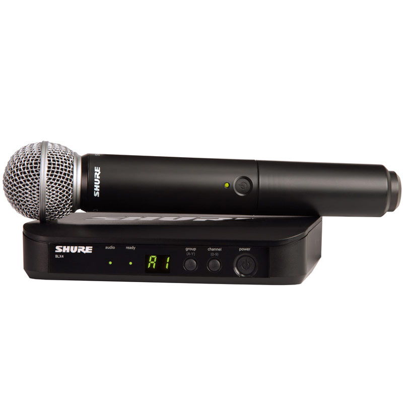 SHURE BLX Wireless BLX24/PG58 《BLX ハンドヘルドシステム with PG58 Mic Head/ワイヤレスシステム》【送料無料】【ONLINE STORE】