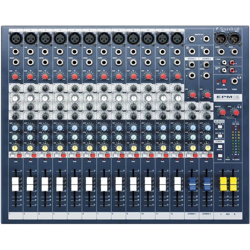 SOUNDCRAFT EPM12《ミキサー》【送料無料】【ONLINE STORE】