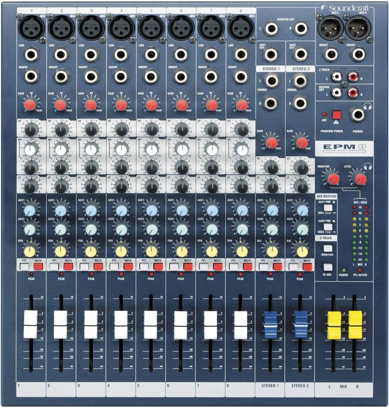 SOUNDCRAFT EPM8《ミキサー》【送料無料】【ONLINE STORE】