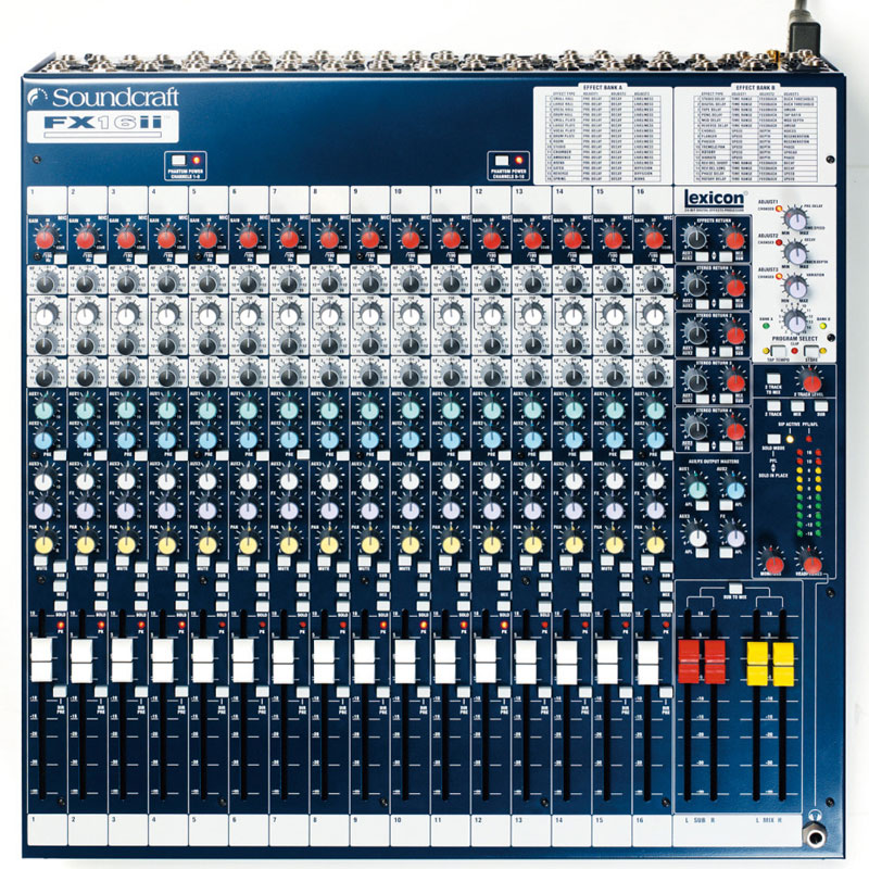 SOUNDCRAFT FX16 II《ミキサー》【送料無料】【ONLINE STORE】