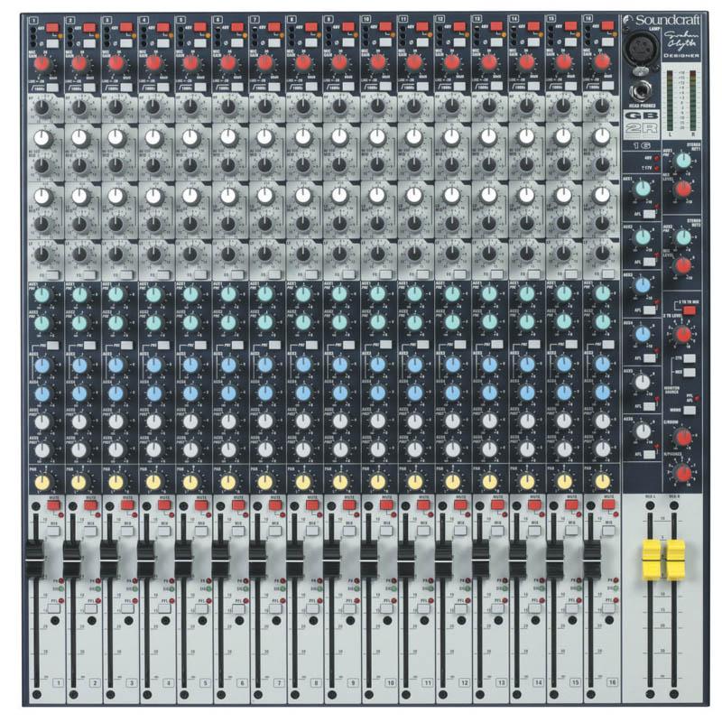 SOUNDCRAFT GB2R 16《ミキサー》【送料無料】【ONLINE STORE】