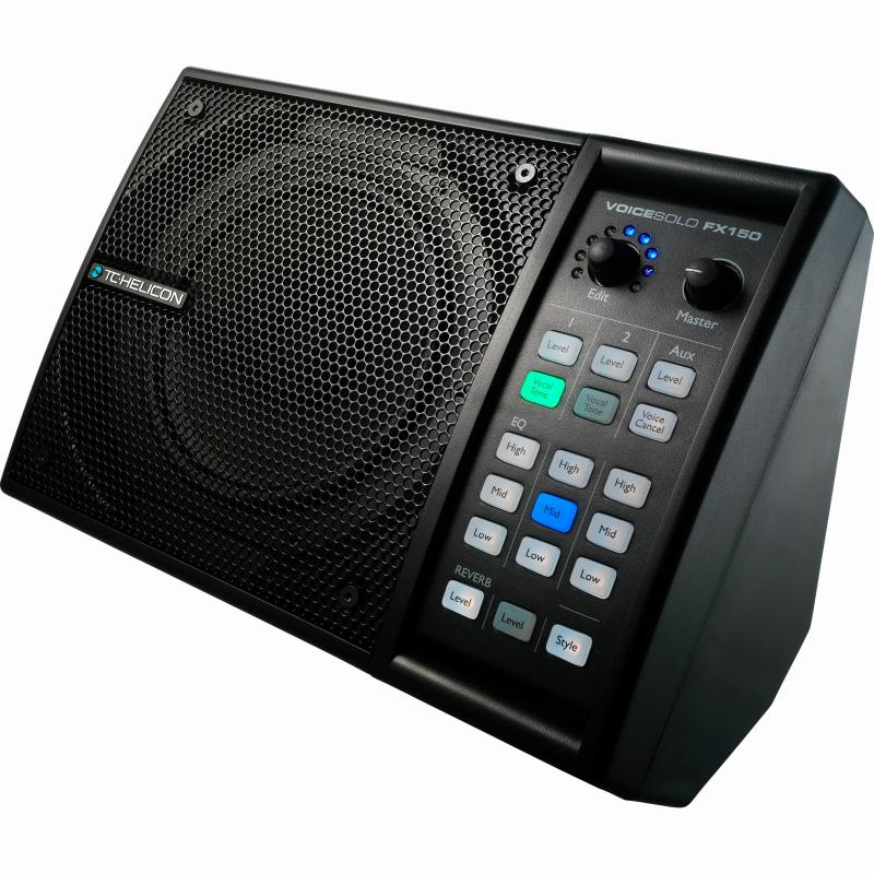 TC HELICON VoiceSolo FX150 (パーソナルPAスピーカー&ボーカル・プロセッサー)【送料無料】【G-CLUB渋谷】