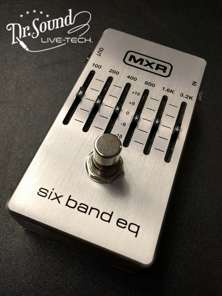 MXR Six Band EQ【新品】【送料無料】【Dr.Sound在庫】