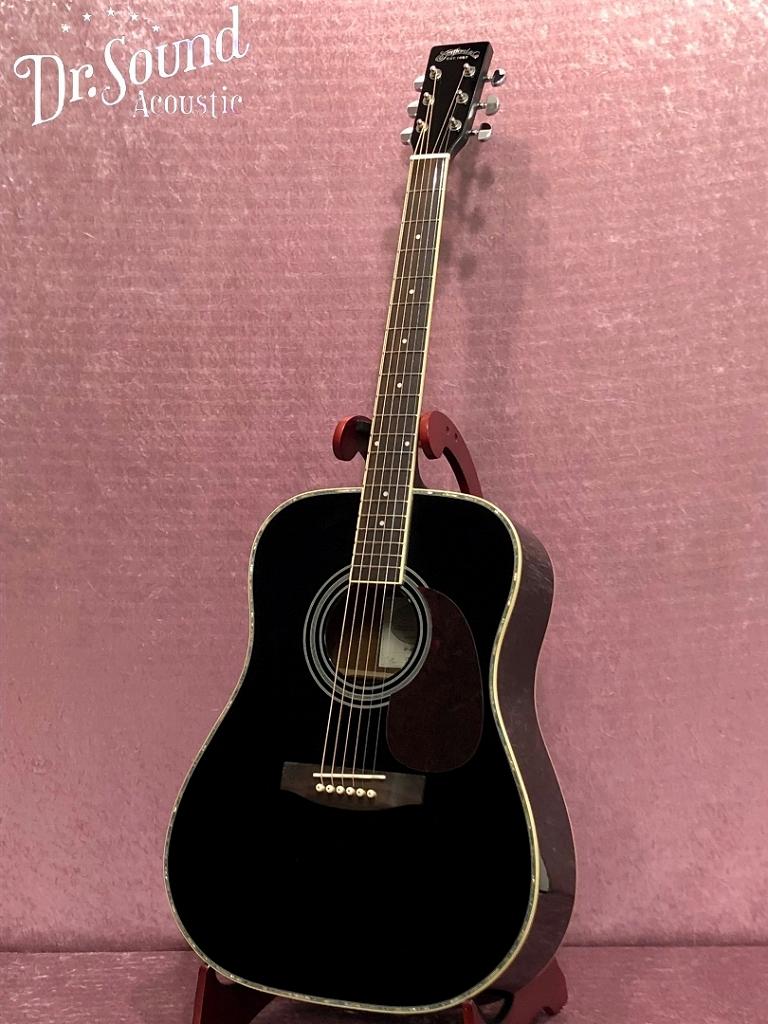 アコースティックギター【アコギ入門7点セットプレゼント】/ Stafford SF-400D-BLK【新品】【送料無料】【Dr.Sound在庫】