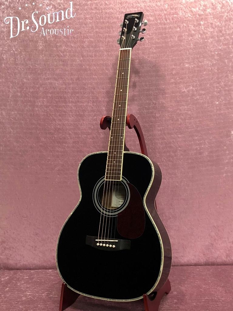 アコースティックギター【アコギ入門7点セットプレゼント】/ Stafford SF-400F-BLK【新品】【送料無料】【Dr.Sound在庫】