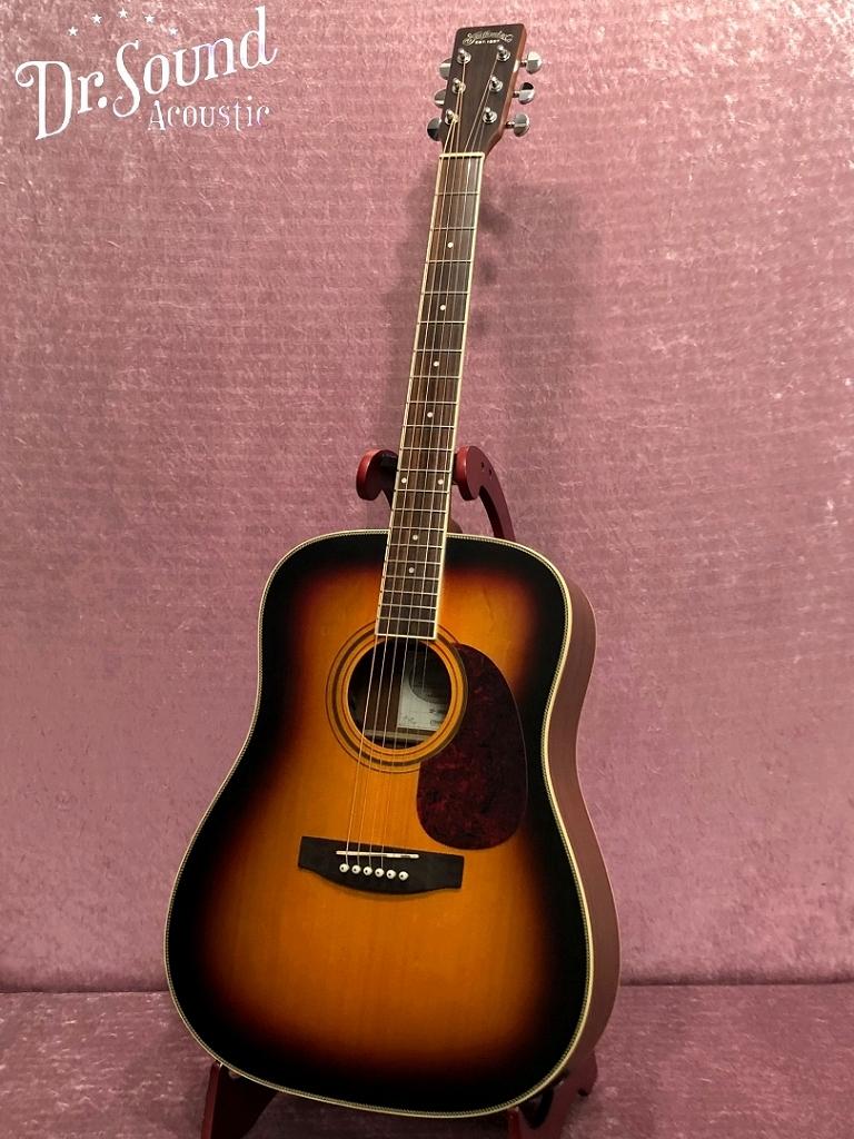 アコースティックギター【アコギ入門7点セットプレゼント】/ Stafford SF-300D-BS【新品】【送料無料】【Dr.Sound在庫】