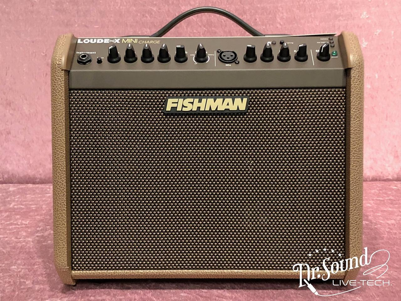 FISHMAN FISHMAN Loudbox Mini Charge [PRO-LBC-500] 《アコースティック用アンプ》【新品】【送料無料】【Dr.Sound在庫】