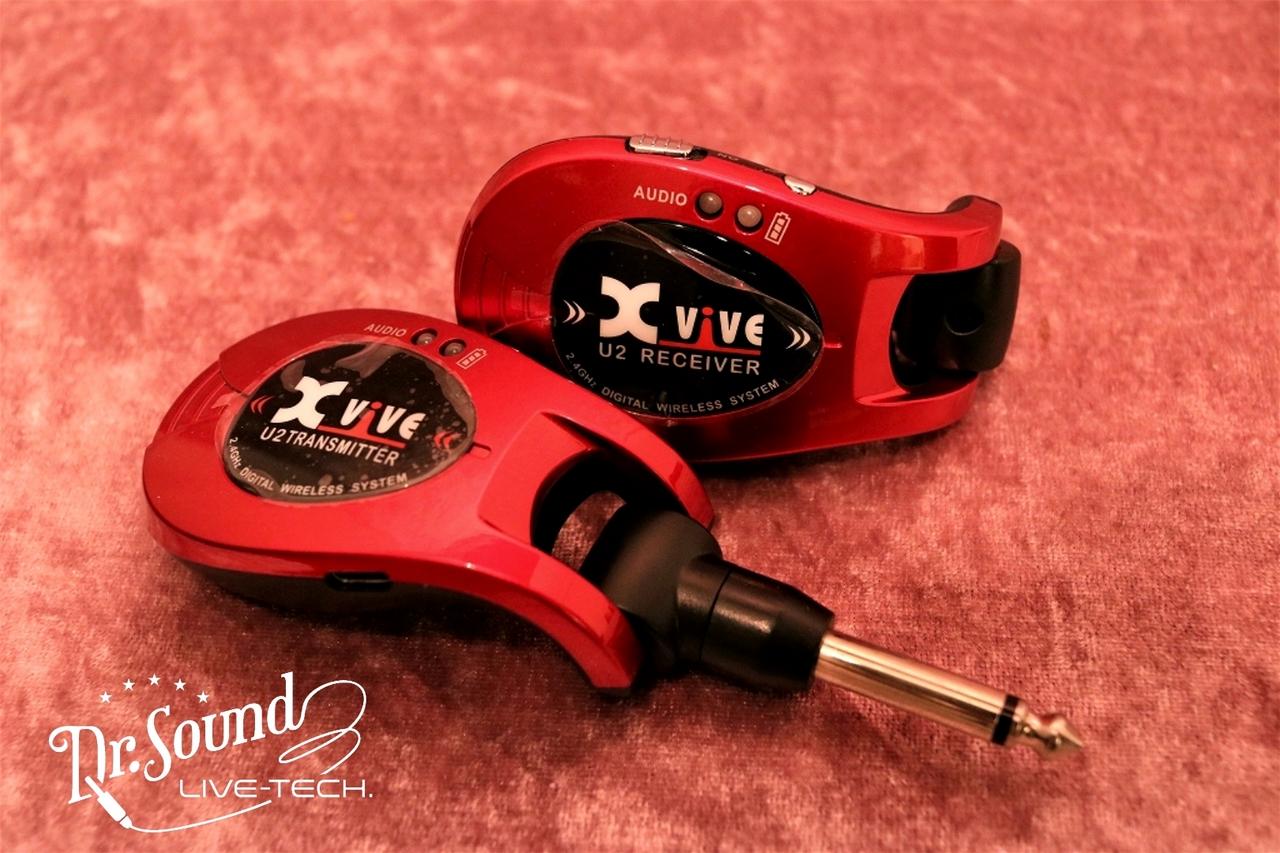 Xvive XV-U2/RED【ワイヤレスギターシステム】【新品】【送料無料】【Dr.Sound在庫】