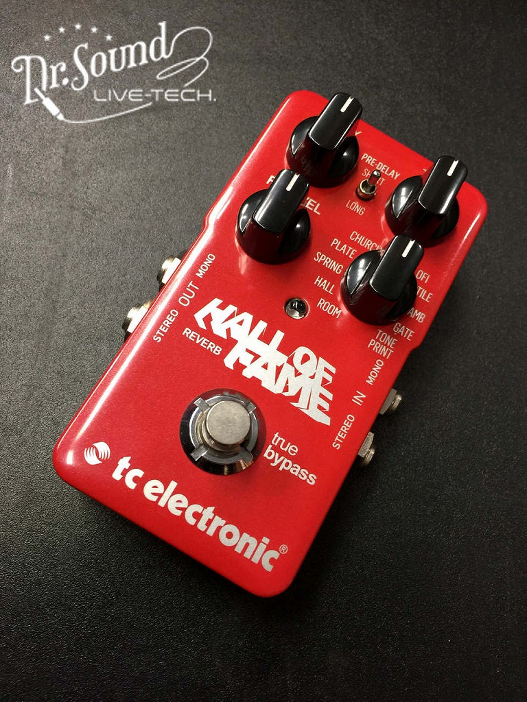 tc electronic Hall Of Fame REVERB【Dr.sound】