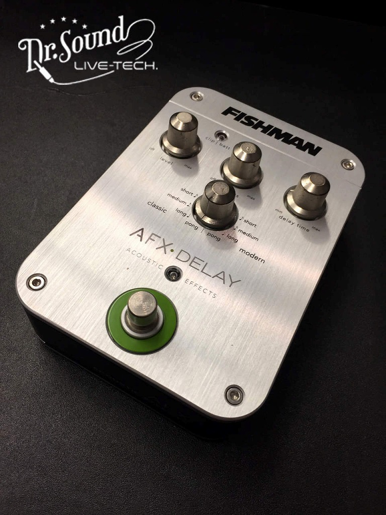 FISHMAN AFX DELAY【Dr.sound】