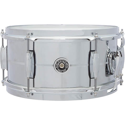 Gretsch Drums Chrome Over Steel Shell Snares GB-4162S (12