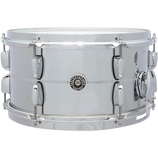 Gretsch Drums Chrome Over Steel Shell Snares GB-4163S (13