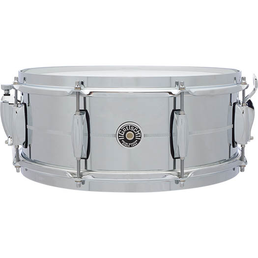 Gretsch Drums Chrome Over Steel Shell Snares GB-4165S (14