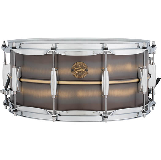 Gretsch Drums Brushed Brass Snares S1-6514-BB (14