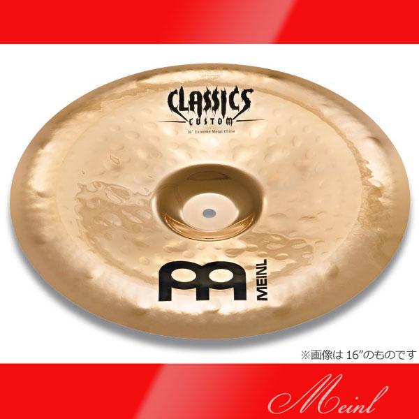 Meinl Classics Custom Extreme Metal Extreme Metal Chinas CC18EMCH-B (18