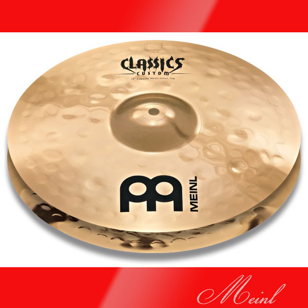 Meinl Classics Custom Extreme Metal Extreme Meinl Metal Metal Hihat CC14EMH-B Extreme (14